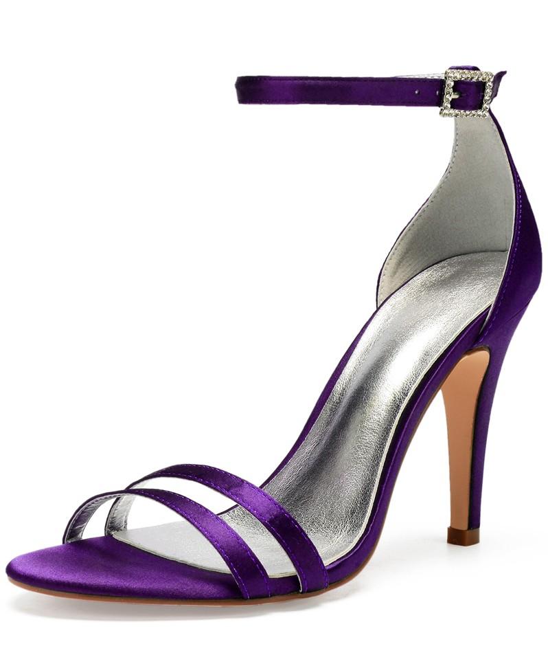 sandales simple talon haut